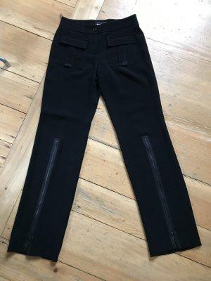 Cambio pantalón de cintura baja negro