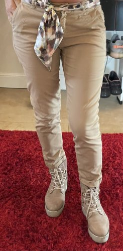Cambio 7/8 Length Trousers beige