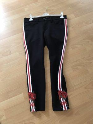 Cambio Pantalon cinq poches multicolore