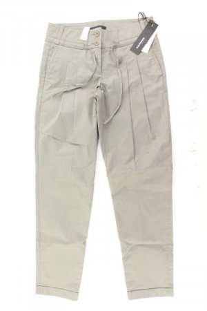 Cambio Trousers olive green cotton