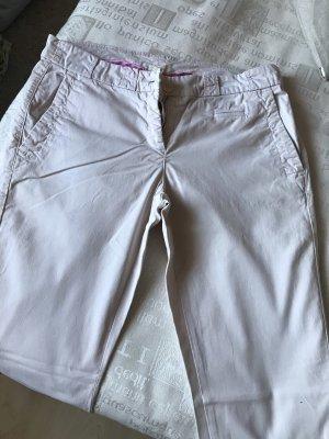 Cambio Pantalon cinq poches crème-blanc cassé