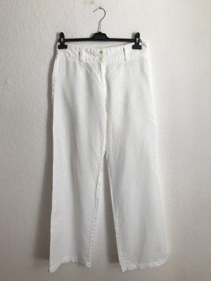 Cambio Pantalón de lino blanco
