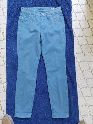 Cambio Jeans elasticizzati blu acciaio Cotone