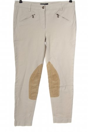 Cambio Riding Trousers natural white-brown athletic style