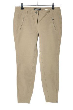 Cambio Pantalon taille basse brun style décontracté