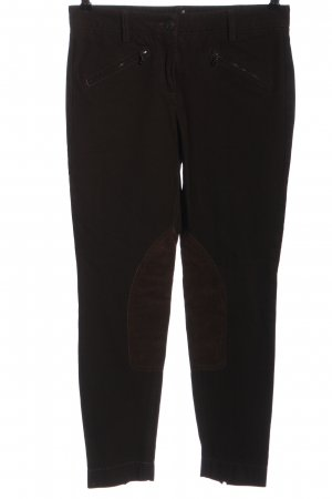 Cambio Lage taille broek zwart casual uitstraling