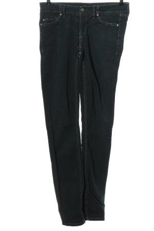 Cambio Jeans taille basse noir style décontracté