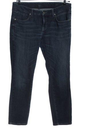Cambio Jeans vita bassa blu stile casual