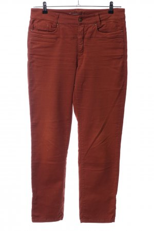Cambio Low Rise Jeans brown casual look