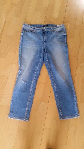 Cambio Jeans Pantalón de cinco bolsillos azul Algodón