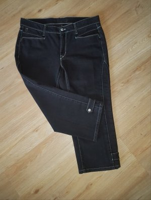 Cambio 3/4-jeans donkerbruin