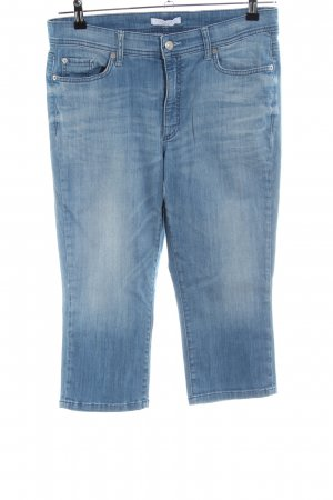 Cambio Jeans 3/4-jeans blauw casual uitstraling
