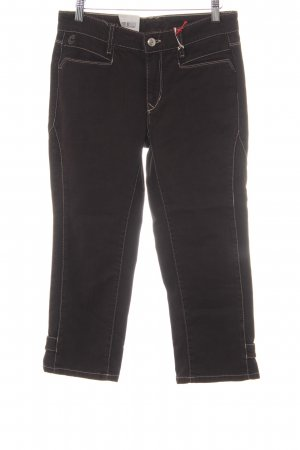 Cambio Jeans 3/4 Jeans schwarzbraun Casual-Look