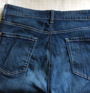 Cambio Jeans Pantalone cinque tasche blu acciaio-blu scuro Cotone