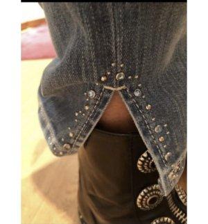 Cambio Jeans Jeansy rurki niebieski