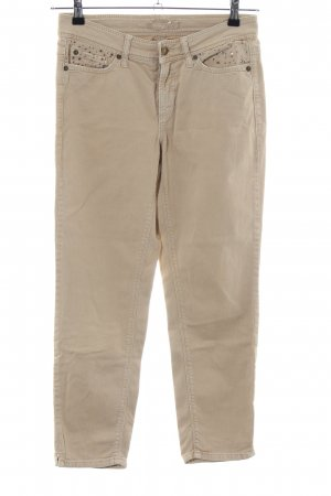 Cambio Jeans 7/8-Hose wollweiß Casual-Look