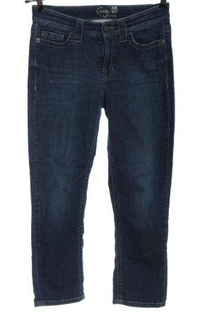 Cambio Jeans Jeansy 7/8 niebieski W stylu casual