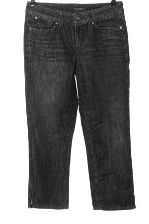 Cambio Jeans Jeansy 7/8 niebieski Melanżowy W stylu casual
