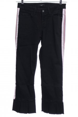 Cambio Jeans 7/8 Jeans schwarz Casual-Look
