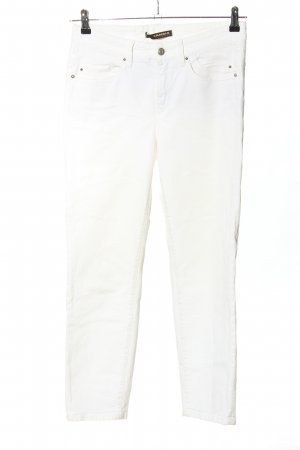 Cambio Jeans 7/8 Length Jeans white casual look