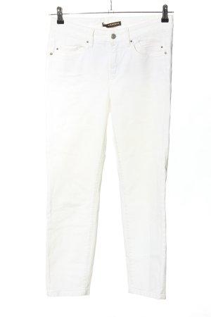 Cambio Jeans Jeansy 7/8 biały W stylu casual