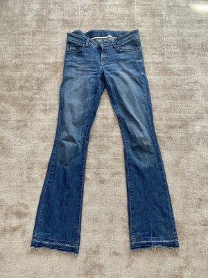Cambio Jeans Jeans a zampa d'elefante blu Denim