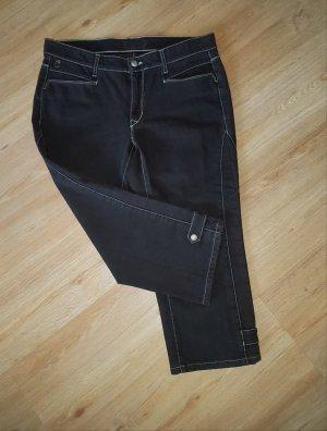 Cambio Jeans a 3/4 marrone scuro