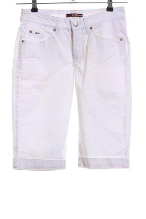 Cambio Jeans Bermuda weiß Casual-Look