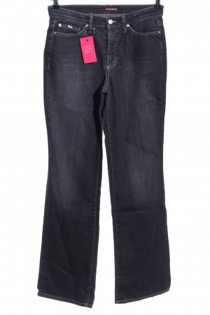 Cambio Jeans Boot Cut Jeans blau Casual-Look