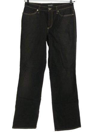 Cambio Jeans Jeansy o kroju boot cut czarny W stylu casual