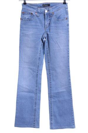 Cambio Jeans Jeansy o kroju boot cut niebieski W stylu casual