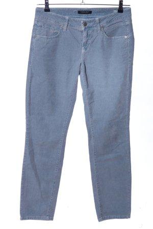 Cambio Jeans Pantalón de pana azul look casual