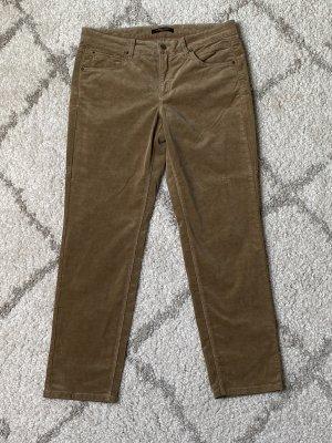 Cambio Jeans Spodnie sztruksowe camel