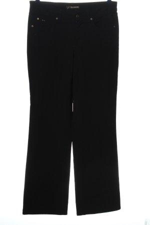Cambio Jeans Spodnie z pięcioma kieszeniami czarny W stylu casual