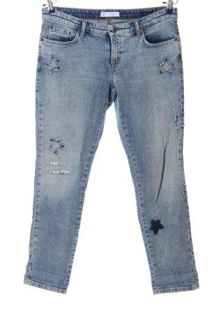 Cambio Jeans Pantalón de cinco bolsillos azul look casual