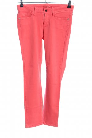 Cambio Jeans Five-Pocket Trousers red casual look