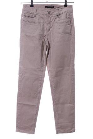 Cambio Jeans Spodnie z pięcioma kieszeniami brązowy W stylu casual