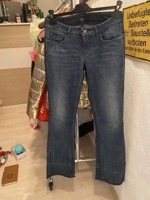 Cambio Jeans Jeansowe spodnie dzwony Wielokolorowy