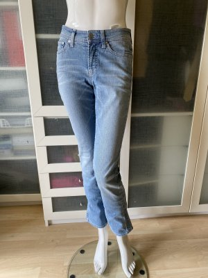 Cambio Hoge taille jeans azuur