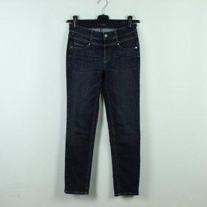 Cambio Jeans Jeansy rurki ciemnoniebieski Bawełna