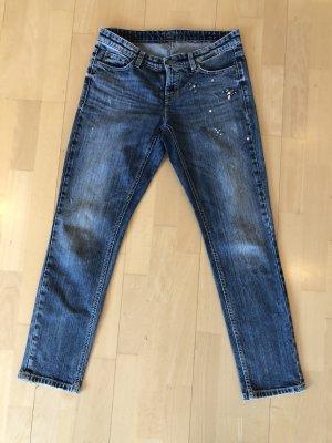 Cambio Jeans Gr.36 mit Schmucksteinen