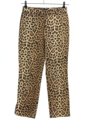 Cambio Jeans Spodnie z wysokim stanem Na całej powierzchni Ekstrawagancki styl
