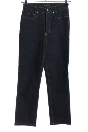 Cambio Jeans Jeansy z wysokim stanem niebieski W stylu casual