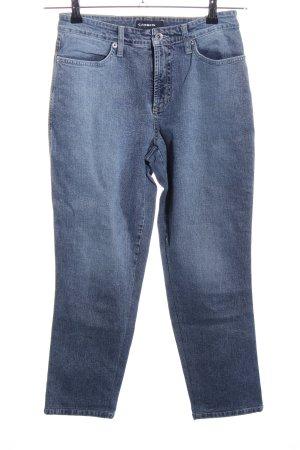 Cambio Jeans High Waist Jeans blau Casual-Look