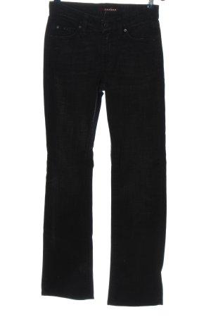 Cambio Jeans Jeansy z wysokim stanem czarny W stylu casual