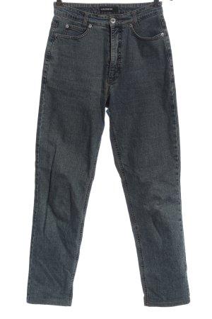 Cambio Jeans High Waist Jeans hellgrau Casual-Look