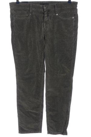 Cambio Jeans Pantalone a vita bassa nero stile casual