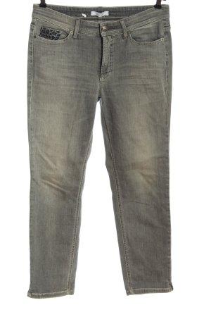 Cambio Jeans Hüftjeans hellgrau Casual-Look