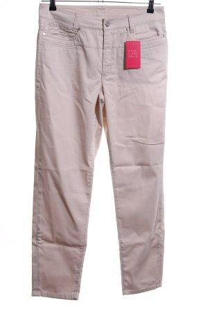 Cambio Jeans Jeansy biodrówki w kolorze białej wełny W stylu casual