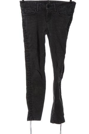 Cambio Jeans Hüftjeans schwarz Casual-Look